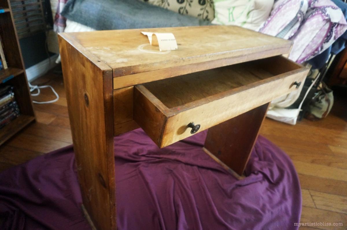 MyArtisticBliss.com | Live Artfully - Girl's Day Furniture Rehab