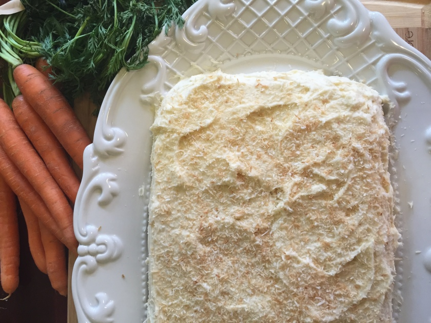 MyArtisticBliss.com | Live Artfully - and eat deliciously, with this clean Coconut Ginger Carrot Cake #yum